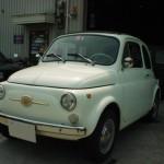 ルパン三世の車といえばクリーム色のフィアット500F