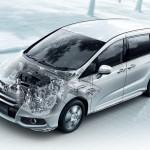 ホンダが「オデッセイ」にハイブリッドモデルを追加、燃費は24.4~26.0km/L